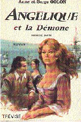Angelique and the Demon, 1972 cover, book 1