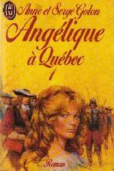 Angelique in Quebec, book 1
