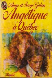 Angelique in Quebec, book 2
